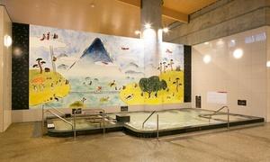 土日祝 しまなみ温泉 喜助の湯 入浴+レンタルタオル 一人ひとり違った過ごしやすさを追求。ゆったり楽しめる割引クーポンチケット
