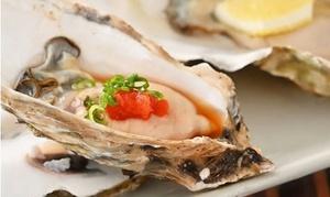 39%OFF 牡蠣のガンガン焼きや鍋など全9品+飲み放題最大150分|2・3・4名分から選択可|目から鱗 浅草店|台東区 浅草駅