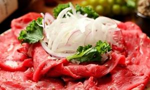 49%OFF ローストビーフを含むイタリアンコース全9品+飲み放題最大180分 / 2名分 or 3名分|KANDO エソラ池袋店|豊島区 池袋駅