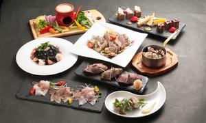 49%OFF 選べるパスタ・寿司・肉料理など8品+飲み放題180分/ 2名分 or 3名分 or 4名分|全日利用可|Dining&Bar KITSUNE 恵比寿|渋谷区 恵比寿駅