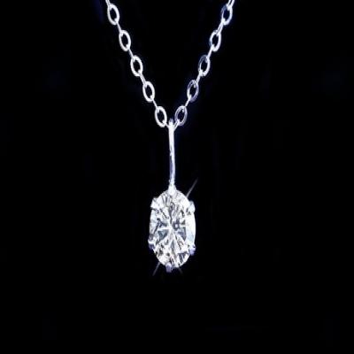 【82%OFF】天然ダイヤモンド0.3ctK18WGペンダント