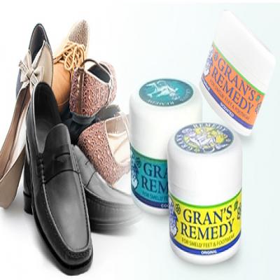 【70%OFF/選べる3タイプ】靴のガンコな臭いをケア・除菌《グランズレメディ》天然成分の純白パウダーを数回靴の中に散布するだけ。足元や靴の臭いの原因である雑菌を強力に除菌して臭いをもとから取り除く、大人気の靴消臭剤