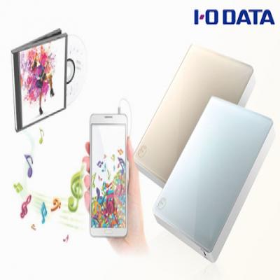 【2色展開】パソコンなしでCD音源をスマートフォンに取り込める。専用アプリではプレイリスト作成やシャッフル再生、バックアップも自由自在《スマートフォン用CDレコーダー CDレコ CDRI-W24AI2》