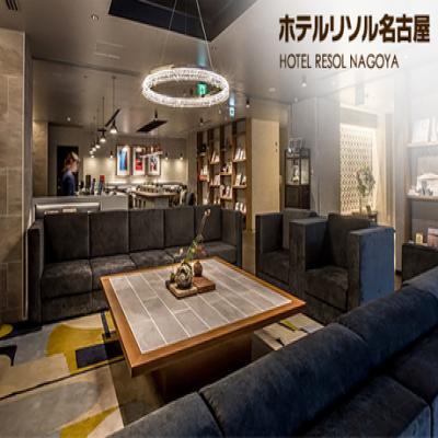 【65%OFF/名古屋駅徒歩4分の好立地】リラックスアロマとジャズが織りなす上質空間。スタイリッシュなお部屋で羽を伸ばす非日常ステイ《モダレットダブル or エコノミーツイン/1泊素泊まり》