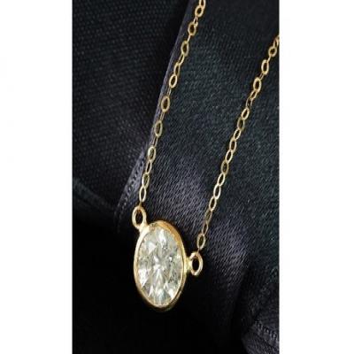 【73%OFF】鑑別書付_天然ダイヤモンド0.5ct K18 デザイン ペンダント