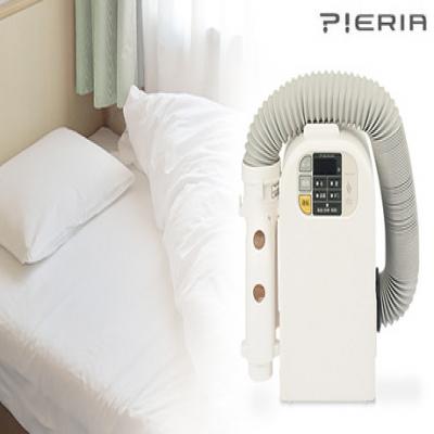季節・天候を問わず、布団やベッドをスピーディーに乾燥。フカフカの布団が心地よい眠りへと誘う。お気に入りの香りを楽しめるアロマカートリッジ搭載《ふとん乾燥機 SKH-052》