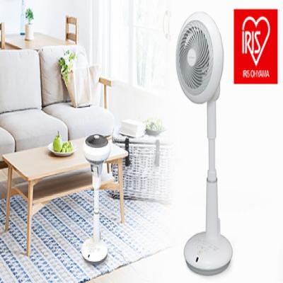 コンパクトなのにお部屋の空気をしっかり撹拌。上下左右自動首振りで扇風機とサーキュレーターを兼ね備えた便利な1台《サーキュレーター扇風機 STF-DC15T》