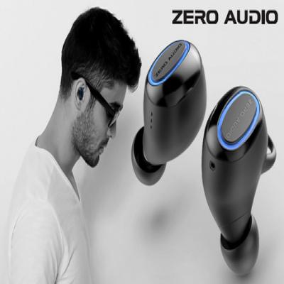 Bluetoothに接続し快適な音楽再生を楽しめるワイヤレスイヤホン。耳へフィットする装着感を実現、コンパクトなデザインの充電ケースを付属《フルワイヤレスイヤホン True Wireless Zero TWZ-1000》