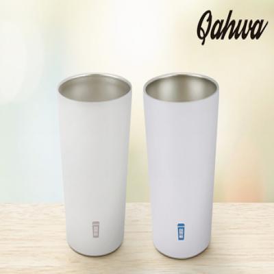 【2色展開/Sサイズ】ホットもアイスも買ってきたままの温度をキープ。コンビニコーヒーがすっぽり入るステンレスマグカップ《カフア GOMUG Sサイズ》