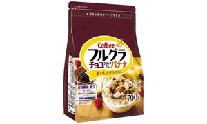 配送|カルビーフルグラ チョコクランチ&バナナ700g×6袋|送料無料|有限会社なかみせ