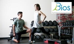 70%OFF セミパーソナルトレーニング50分 / 月4・8・12回|女性限定|Bios(ビオス)立川|立川駅